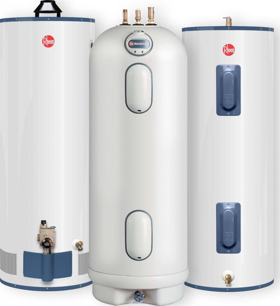 Виды современных водонагревателей