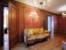 Stylish classic sofa