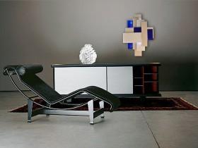 Темная комната в стиле конструктивизм