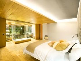 Bedroom loft tarzida ichki