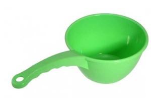 Пластиковый черпак для бани