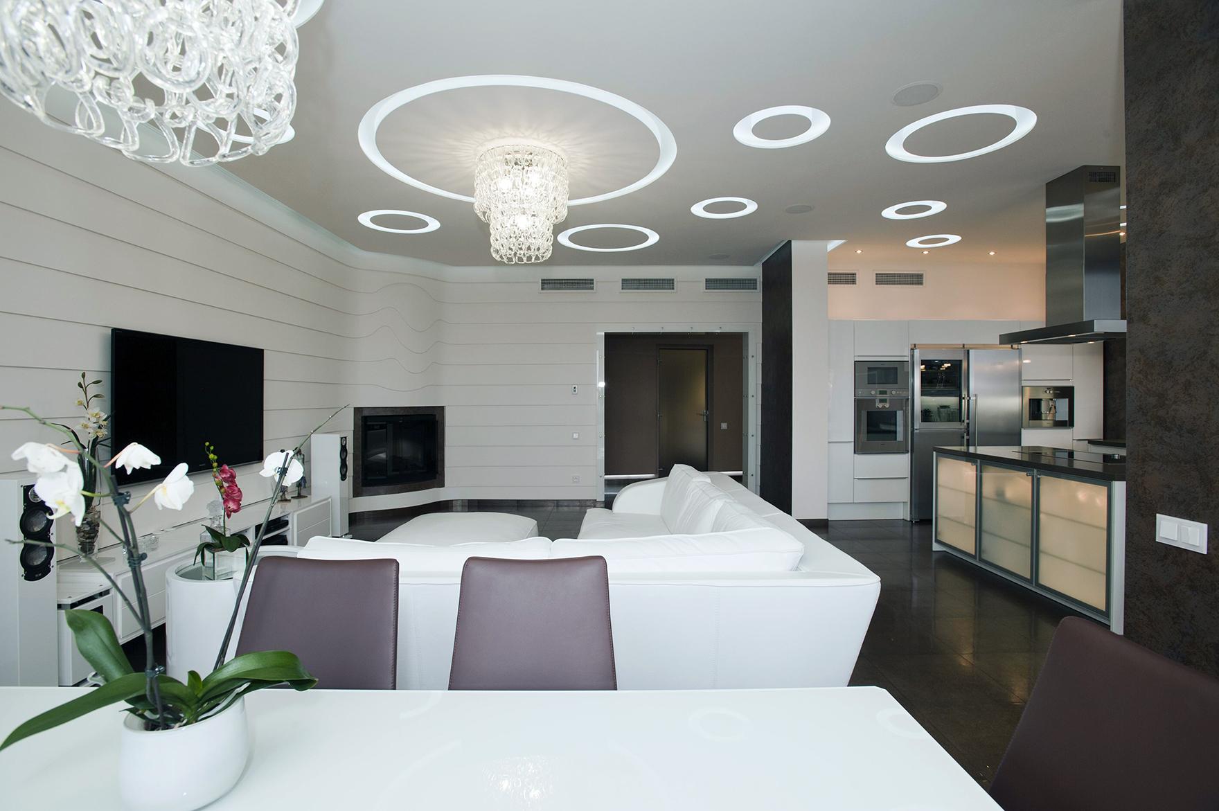красивой квартиры в современном стиле