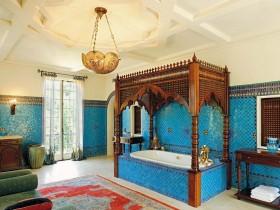 Bathroom in Oriental style