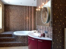 Аздабленне ваннай пакоі керамічнай пліткай