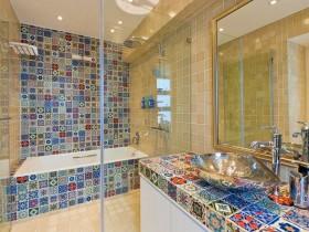 Креативный интерьер ванной комнаты