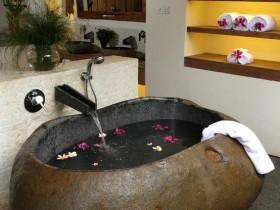 Bath in Oriental style