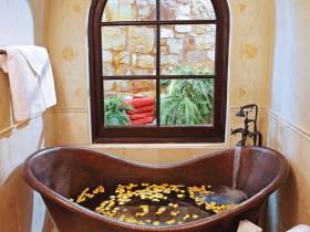 Дизайнерская ванная комната небольшого размера