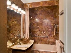 The idea of the bathroom design