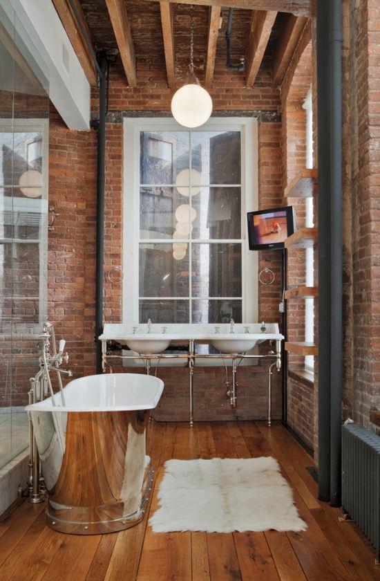 Дизайнерские ванные комнаты: фото