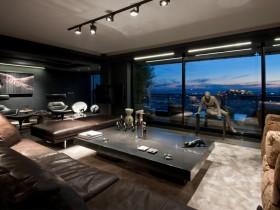 Современный декор гостиной комнаты