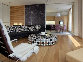 Декор гостиной комнаты