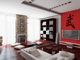 Modern Chinese style living room