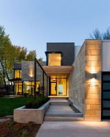 Facade modern cottage style modernism