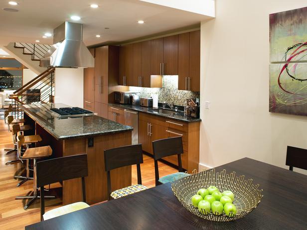 Дизайн кухонь фото стены