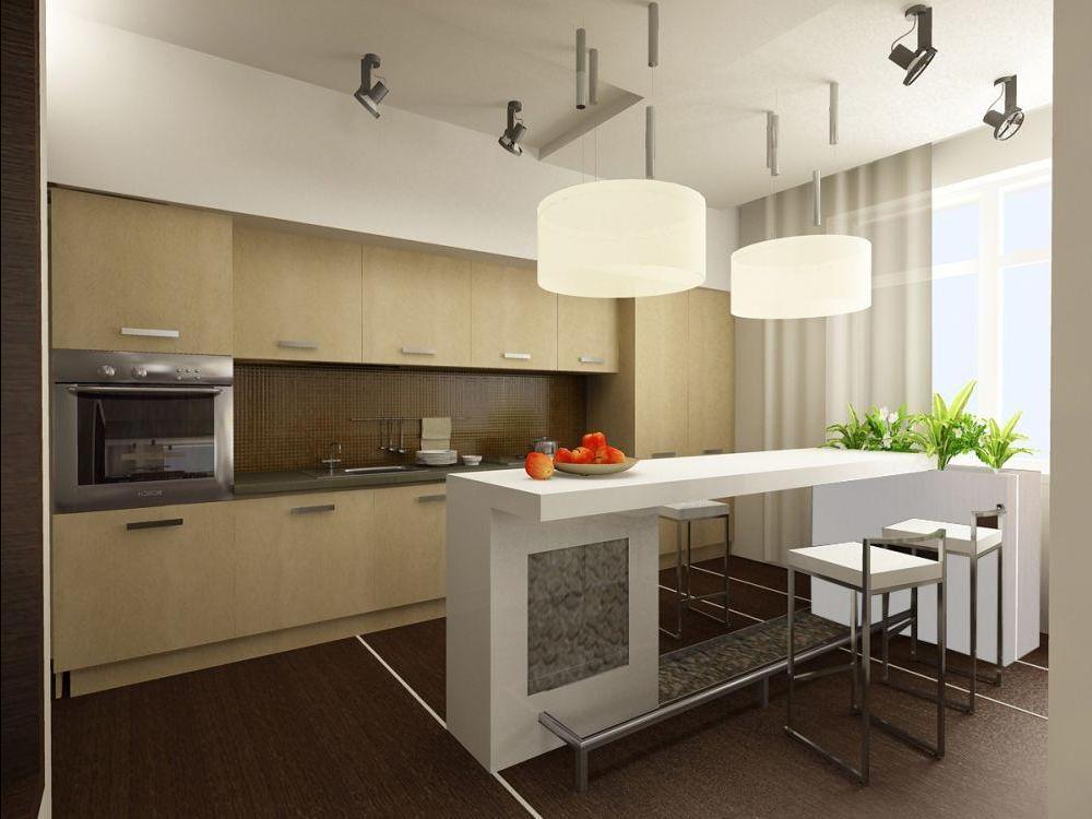 Интерьер для кухни 12 кв.м фото