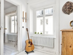 Guitar as an accessory for the room