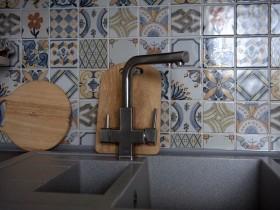 Дизайн змішувача на кухні