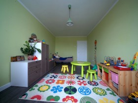 Bright children's room design
