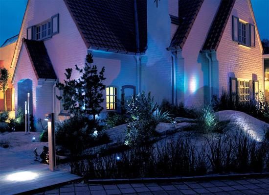 Ландшафтное архитектурное освещение