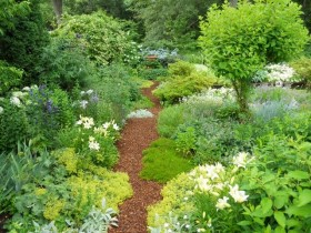 Естественный стиль сада