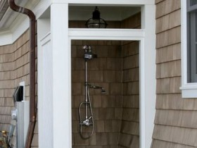 Капитальный летний душ