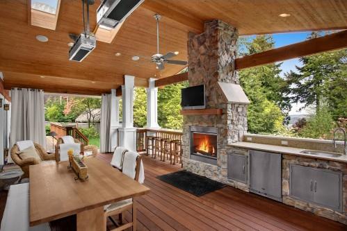 Кухня летняя дизайн