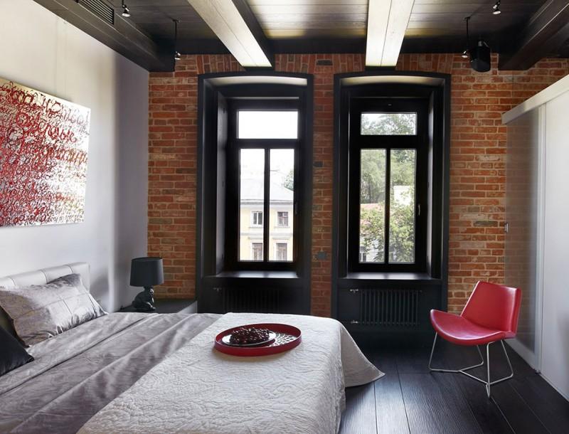 Дизайн квартиры в стиле лофт фото
