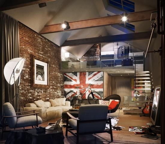 52 Фото стиля лофт в интерьере квартиры и дома