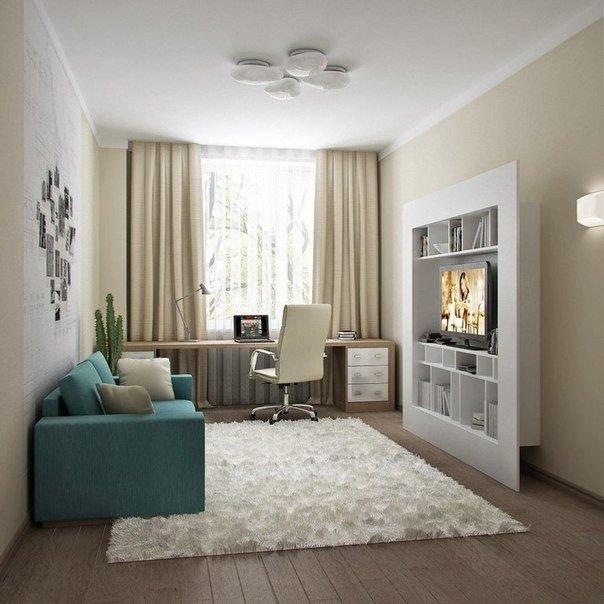Дизайн небольших гостиных комнат
