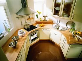 Kitchen layout small size