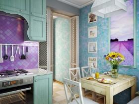 Stylish interior small kitchen