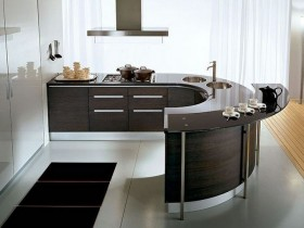 Small kitchen in modern style