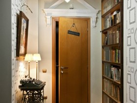 Stylish design small hallway