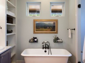 Finish small bathroom