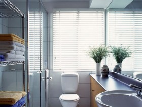 Layout small bathroom