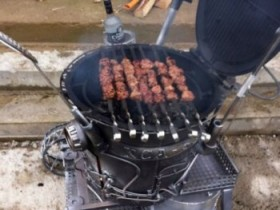 The design of the grill