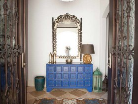 The living room in Moroccan style