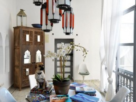 Living with a Moroccan style
