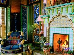 Moroccan style in the interior of the house