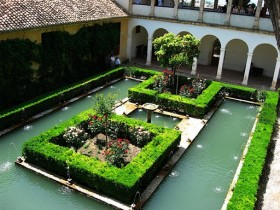 The idea of the garden in the Moorish style