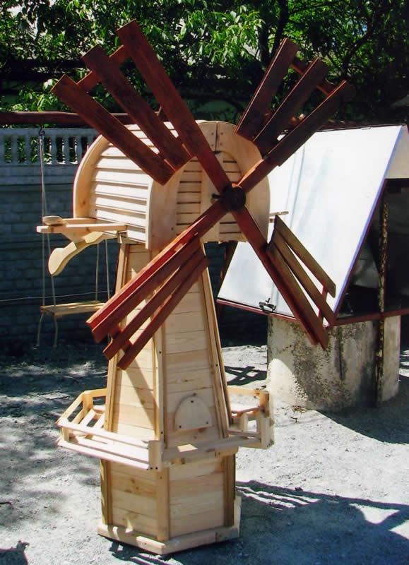 Деревянная мельница своими руками фото 196