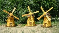 Design decorative windmills