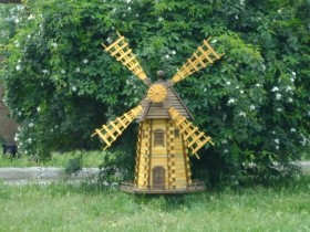 Design country decorative windmills