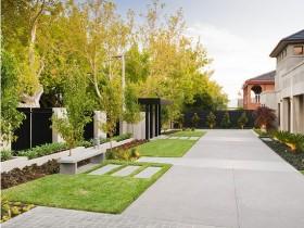 Ландшафтный дизайн в минималистском стиле