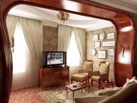 Гостиная с элементами стиля модерн