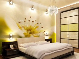 The modern elements in the interior bedrooms