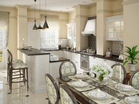 Kitchen in modern style