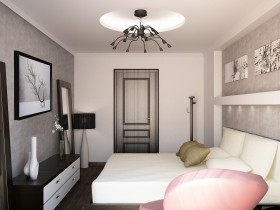 Bedroom design in contemporary style