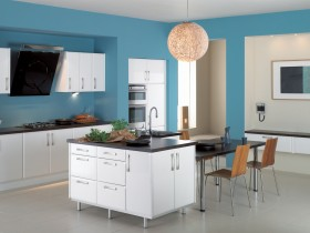 Kitchen interior in modern style