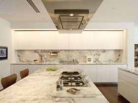 Kitchen design in modern style